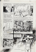 Original Comic Art:Panel Pages, John Totleben Miracleman #11 page 16 Original Art (Eclipse,1987)....
