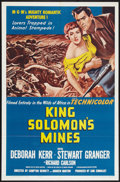 "Movie Posters:Adventure, King Solomon's Mines (MGM, R-1962). One Sheet (27"" X 41"").Adventure.. ..."