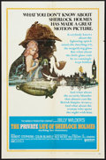 "Movie Posters:Mystery, The Private Life of Sherlock Holmes (United Artists, 1971). OneSheet (27"" X 41"") Style A. Mystery.. ..."