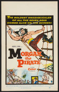 "Movie Posters:Adventure, Morgan the Pirate Lot (MGM, 1961). Window Cards (2) (14"" X 22"").Adventure.. ... (Total: 2 Items)"
