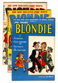 Golden Age (1938-1955):Humor, Blondie Comics File Copy Short Box Group (Harvey, 1944-65) Condition: Average VF+....