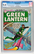 Silver Age (1956-1969):Superhero, Green Lantern #4 (DC, 1961) CGC NM 9.4 Off-white pages....
