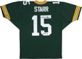 Football Collectibles:Uniforms, Bart Starr Signed Jersey....