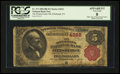 National Bank Notes:Pennsylvania, Pittsburgh, PA - $5 1882 Brown Back Fr. 471 The Pennsylvania NB Ch.# 4222. ...