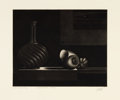 Prints, PROPERTY OF MRS. RUTH CARTER-STEVENSON. MARIO AVATI (French, 1921-). Nature Morte a L'Estampe, 1962. Aquatint and ...