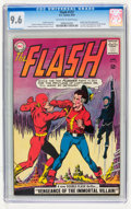 Silver Age (1956-1969):Superhero, The Flash #137 (DC, 1963) CGC NM+ 9.6 Off-white to white pages....