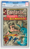 Silver Age (1956-1969):Superhero, Fantastic Four #33 (Marvel, 1964) CGC NM+ 9.6 White pages....