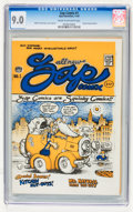 Silver Age (1956-1969):Alternative/Underground, Zap Comix #1 (First Printing - Plymell) (Apex Novelties, 1967) CGC VF/NM 9.0 Cream to off-white pages....