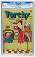 Golden Age (1938-1955):Humor, Torchy #2 (Quality, 1950) CGC NM 9.4 Off-white pages....