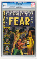 Golden Age (1938-1955):Horror, Haunt of Fear #4 Gaines File pedigree (EC, 1950) CGC NM/MT 9.8Off-white to white pages....