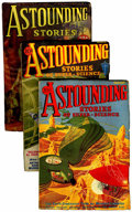 Pulps:Science Fiction, Astounding Stories Group (Clayton/Street & Smith, 1933)Condition: Average VG+.... (Total: 5 Items)