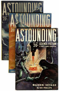 Pulps:Science Fiction, Astounding Stories Group (Street & Smith, 1939) Condition:Average FN.... (Total: 12 Items)