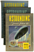 Pulps:Science Fiction, Astounding Stories Group (Street & Smith, 1942-43) Condition:Average VG/FN.... (Total: 22 Items)