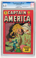 Golden Age (1938-1955):Superhero, Captain America Comics #72 (Timely, 1949) CGC FN+ 6.5 Cream to off-white pages....