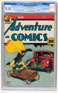 Golden Age (1938-1955):Superhero, Adventure Comics #58 Mile High pedigree (DC, 1941) CGC VF/NM 9.0 Off-white to white pages....