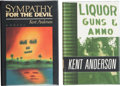 Books:Signed Editions, Kent Anderson. Two Signed First Editions, including: Sympathy For the Devil. Garden City: Doubleday & Company, 1987.... (Total: 2 Items)