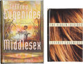 Books:Signed Editions, Jeffery Eugenides. Two Signed Books, including: The Virgin Suicides. New York: Farrar, Straus and Giroux, [1993]. [a... (Total: 2 Items)
