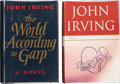 Books:First Editions, John Irving. Two First Editions, including: The World Accordingto Garp. New York: Dutton, [1978]. Octavo. 437 pages... (Total:2 Items)