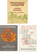 Books:First Editions, Charles Willeford. Three Firsts Editions, including: ProletarianLaughter, Poems. Willeford's first appearance in pr... (Total:3 Items)