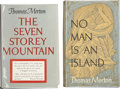 Books:First Editions, Thomas Merton. Two First Editions, including: The Seven StoreyMountain. New York: Harcourt, Brace and Company, [194...(Total: 2 Items)