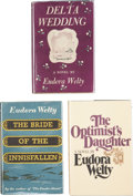 Books:First Editions, Eudora Welty. Three First Editions, including: DeltaWedding. [1946]. [and:] The Bride of the Innisfallen.[... (Total: 3 Items)