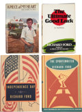 Books:Signed Editions, Richard Ford. Four Signed First Editions, including: A Piece of My Heart. [and:] The Ultimate Good Luck. [an... (Total: 4 Items)