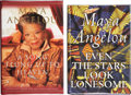 Books:Signed Editions, Maya Angelou. Two Signed First Editions, including: Even theStars Look Lonesome. New York: Random House, [1997]. [a...(Total: 2 Items)