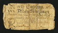Colonial Notes:North Carolina, North Carolina March 9, 1754 15s Very Good....