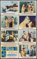 "Movie Posters:Drama, Platinum High School (MGM, 1960). Lobby Card Set of 8 (11"" X 14"").Drama.. ... (Total: 8 Items)"