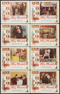 "Paris Model (Columbia, 1953). Lobby Card Set of 8 (11"" X 14""). Comedy. ... (Total: 8 Items)"