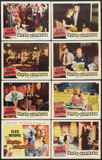 "Over-Exposed (Columbia, 1956). Lobby Card Set of 8 (11"" X 14""). Bad Girl. ... (Total: 8 Items)"