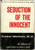 Memorabilia:Comic-Related, Seduction of the Innocent - First Edition With Bibliographical Note (Rinehart, 1953)....