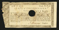 Colonial Notes:Connecticut, Connecticut Treasury Office. June 1, 1782. Extremely Fine....