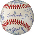 Baseball Collectibles:Balls, 1988 Los Angeles Dodgers Team Signed Baseball....