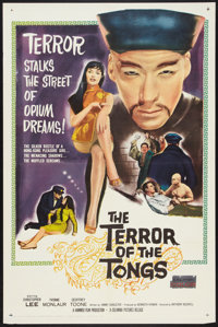 """The Terror of the Tongs (Columbia, 1961). One Sheet (27"""" X 41""""). Thriller"""