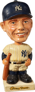Baseball Collectibles:Others, 1961-63 Mickey Mantle White Base Nodder....