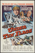 "Movie Posters:War, Under Ten Flags (Paramount, 1960). One Sheet (27"" X 41"") and LobbyCard Set of 8 (11"" X 14""). War.. ... (Total: 9 Items)"