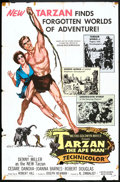 "Movie Posters:Adventure, Tarzan the Ape Man (MGM, 1959). One Sheet (27"" X 41""). Adventure....."