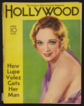 """Movie Posters:Miscellaneous, Hollywood Magazine (Fawcett Publications, April, 1933). Magazine (8.5"""" X 11"""", 68 Pages). Miscellaneous.. ..."""