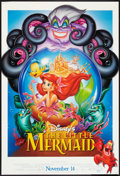 "Movie Posters:Animated, The Little Mermaid Lot (Buena Vista, R-1997). One Sheets (2) (27"" X40"") DS Regular and Advance. Animated.. ... (Total: 2 Items)"