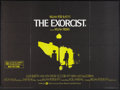 "Movie Posters:Horror, The Exorcist (Warner Brothers, 1974). British Quad (30"" X 40""). Horror.. ..."