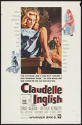 "Movie Posters:Drama, Claudelle Inglish (Warner Brothers, 1961). One Sheet (27"" X 41""),Half Sheet (22"" X 28), and Lobby Cards (6) (11"" X 14""). Dr...(Total: 8 Items)"