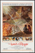 "Movie Posters:Animated, The Lord of the Rings (United Artists, 1978). One Sheet (27"" X 41"")Style B. Animated.. ..."