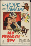 """Movie Posters:Comedy, My Favorite Spy (Paramount, 1951). One Sheet (27"""" X 41""""). Comedy.. ..."""