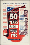 """Movie Posters:Documentary, 50 Years Before Your Eyes (Warner Brothers, 1950). One Sheet (27"""" X 41""""). Documentary.. ..."""