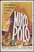 "Movie Posters:Adventure, Marco Polo (American International, 1962). One Sheet (27"" X 41"")and Lobby Cards (7) (11"" X 14""). Adventure.. ... (Total: 8 Items)"