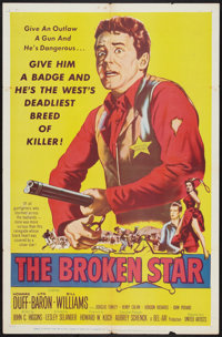 "The Broken Star Lot (United Artists, 1956). One Sheets (2) (27"" X 41"") and Photos (8) (8"" X 10""). We..."