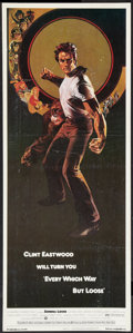 """Movie Posters:Comedy, Every Which Way But Loose (Warner Brothers, 1978). Insert (14"""" X 36""""). Comedy.. ..."""