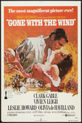 "Movie Posters:Academy Award Winners, Gone with the Wind (MGM, R-1980). One Sheet (27"" X 41""). Academy Award Winners.. ..."