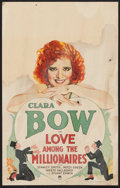 "Movie Posters:Comedy, Love Among the Millionaires (Paramount, 1930). Window Card (14"" X22""). Comedy.. ..."